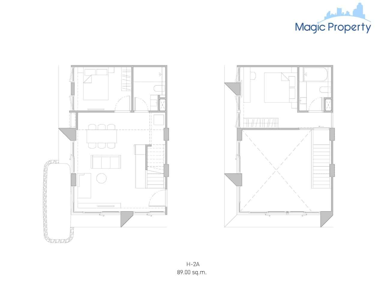 Duplex(H-2A-Size-89-Sqm.)