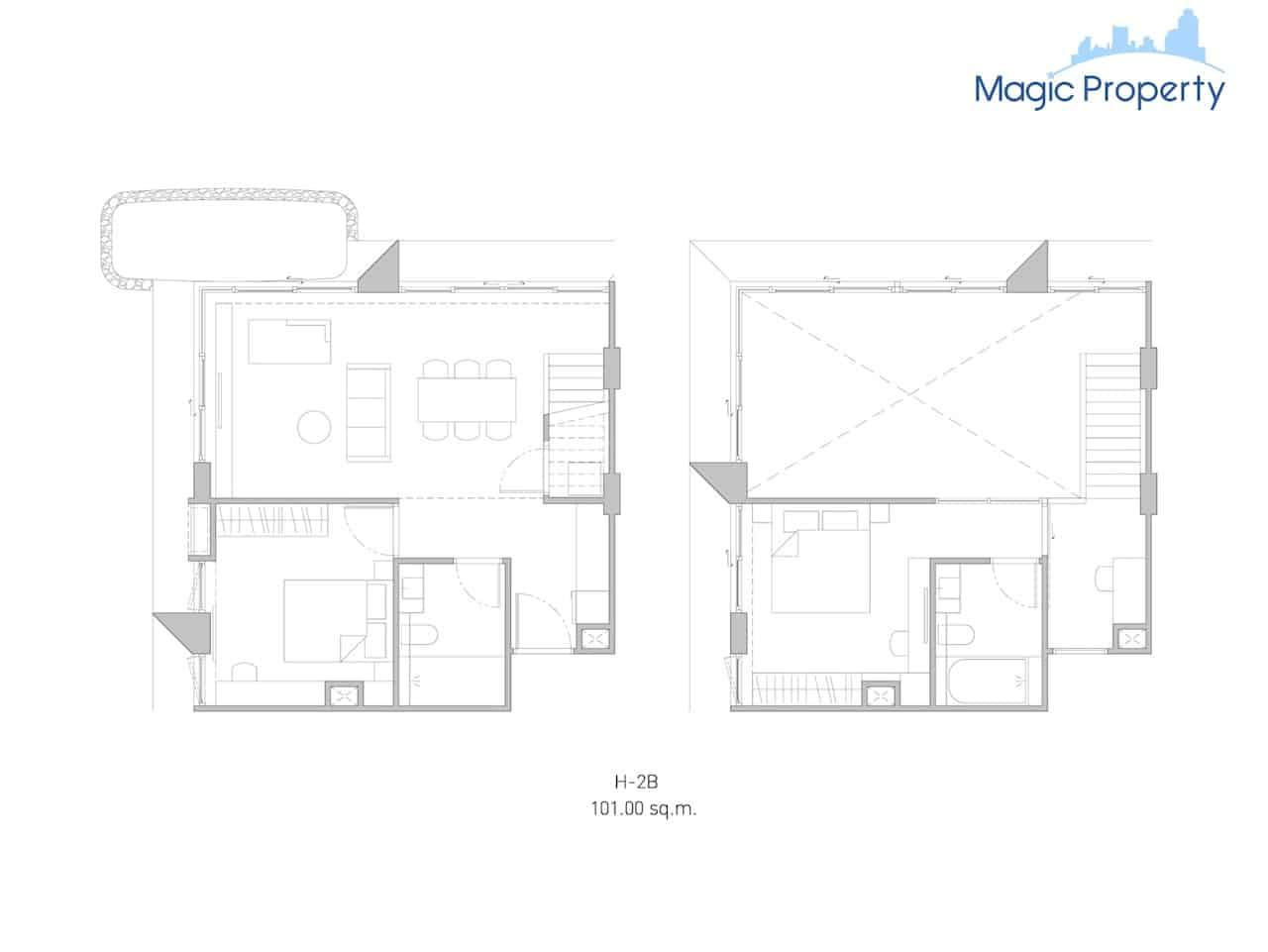 Duplex( H-2B-Size-101-Sqm.)
