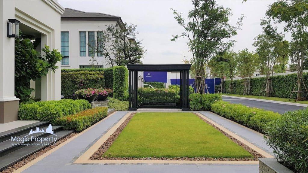 Baan Sansiri Pattanakarn Single House For Sale