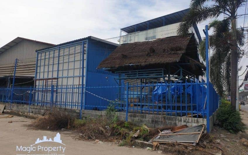 Land with warehouse For Sale on Bangna-Trad Main Road