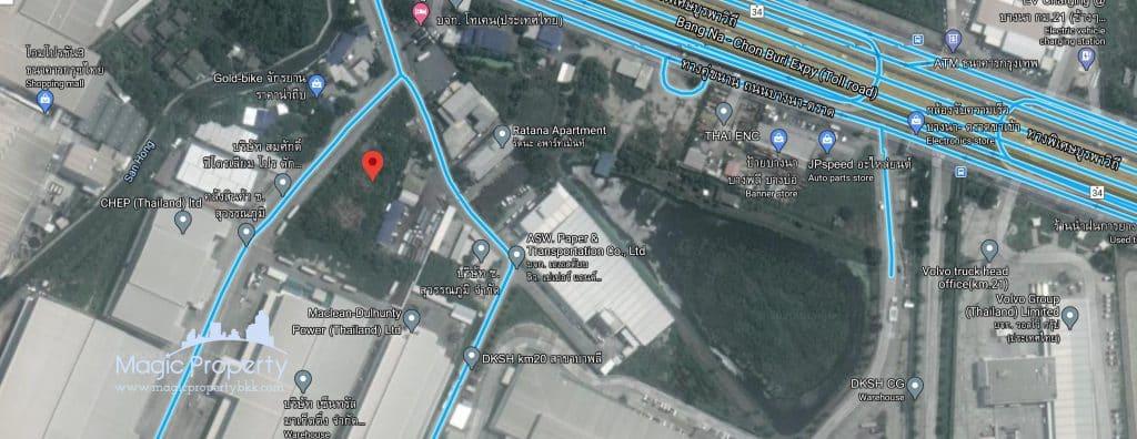 2 Rai Land For Sale at Sisa Chorakhe Yai, Bang Sao Thong, Samut Prakan