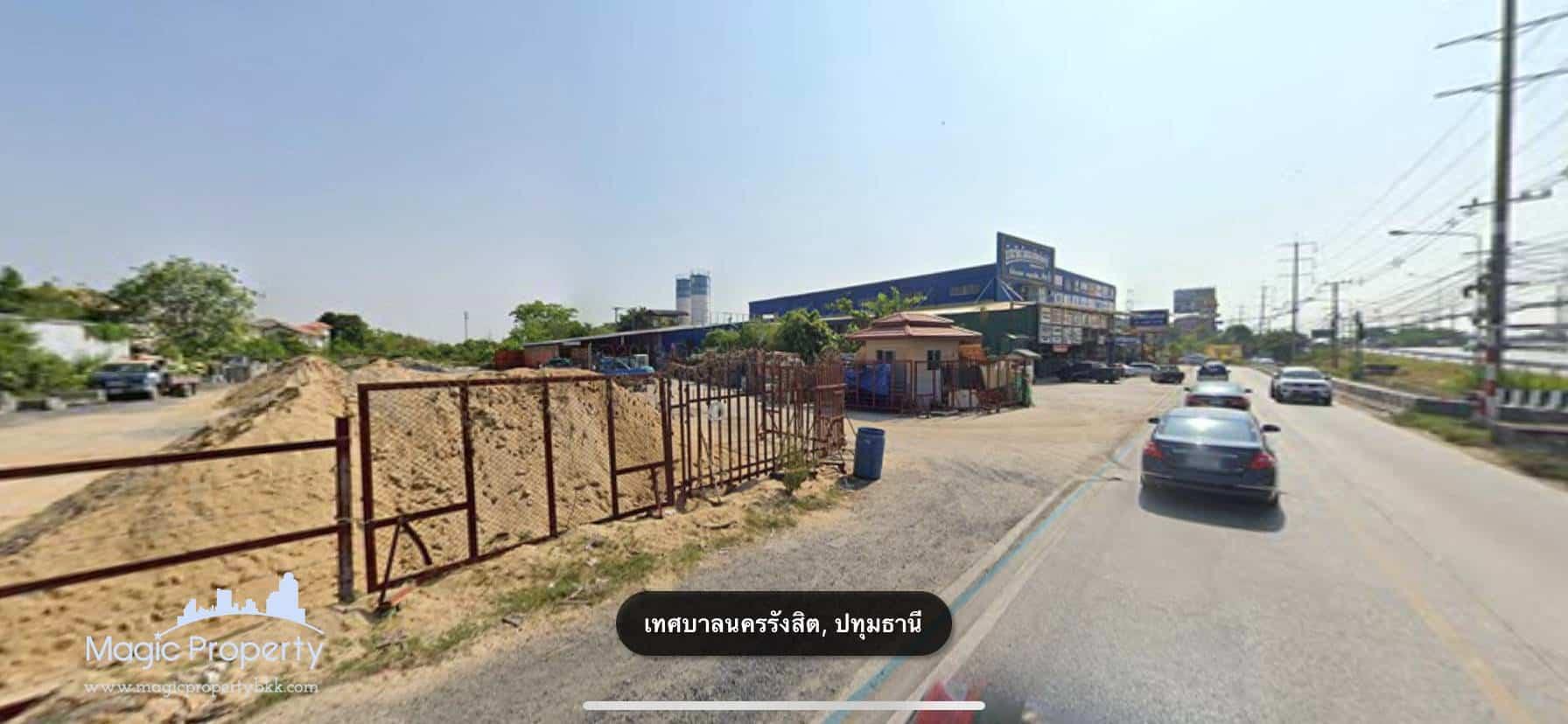38 Rai Land For Sale in Rangsit, Prachathipat, Thanyaburi, Pathum Thani